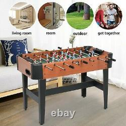 Foosball Table Football Arcade 4 Joueur Intérieur Salle De Jeu Accueil Enfants Adultes