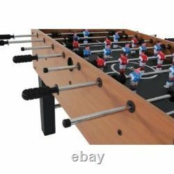 Foosball Table Game Room Soccer Football Home Basement Arcade Sports Foos Ball