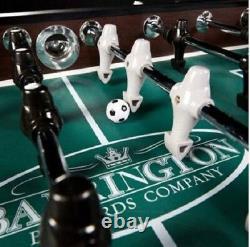 Foosball Table Men 56 Pouces Boules De Football Soccer Salle Arcade Meubles De Sport Intérieur