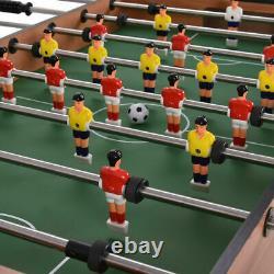 Foosball Table Soccer Football Arcade 4 Joueur Intérieur Salle De Jeu 48 Home Party