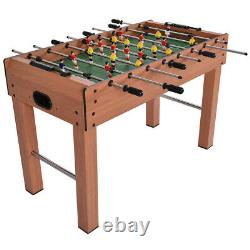 Foosball Table Soccer Football Arcade 4 Player Indoor Game Room 48 Famille D'accueil