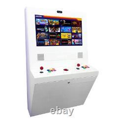 Game Room Guys Polycade Arcade Game Black White Stripes Retro Gaming