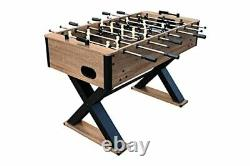 Hathaway Fullerton 48-in Foosball Table, Table D'arcade Soccer Pour Les Salles De Jeux