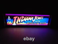 Indiana Jones Marquee Jeu / Rec Chambre Led Affichage Boîte À Lumière