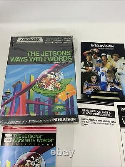 Intellivision Jetsons' Jetsons Way With Words Intv Video Game System Complet