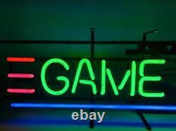 Jeu Chambre Vintage Neon Sign 40 Bowling Alley Arcade Nintendo Jeux Vidéo Sign