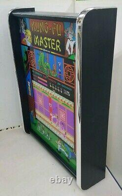 Kung Fu Master Game Jouer Marquee Jeu / Rec Room Affichage Led Boîte À Lumière