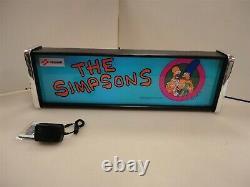 La Boîte À Lumière Simpsons Marquee Game/rec Room Led Display