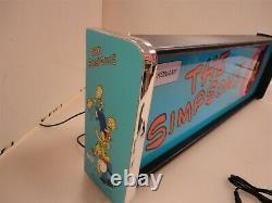 La Boîte Lumineuse Simpsons Marquee Game/rec Room Led Display