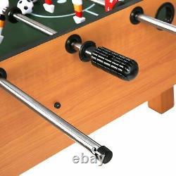 Livebest Foosball Table Soccer Jeu En Bois Jouer Arcade Party Fun Room Accueil Adulte