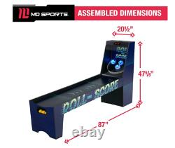 MD Sports Roll And Score, Salle De Jeux D'arcade, 87 Pouces, 3 Balles