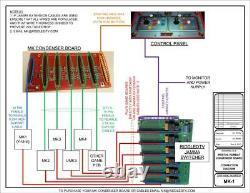 Mortal Kombat 6way Jamma Arcade Switcher Kit