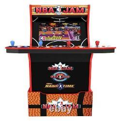 Nba Jam Arcade Riser Light Up Marquee 1up Salle De Jeu Fun Jouet De Fête Pour Enfants Tous Les Âges