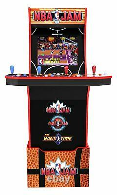Nba Jam Classic Arcade Machine Avec Wi-fi Multijoueur, Retro Man Cave Home Game Room