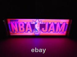 Nba Jam Marquee Game/rec Room Led Display Boîte Lumineuse
