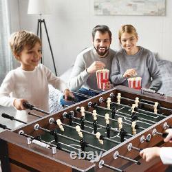 Nouveau 54 Foosball Soccer Table Compétition Sized Football Arcade Salle De Jeu Intérieure