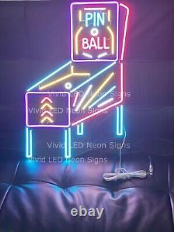 Nouveau Jeu D'arcade Machine De Salle De Jeu 24 Led Neon Enseigne Lampe Lumière Super Bright Display