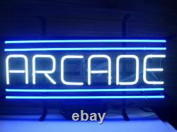 Nouvelle Arcade Atari Game Room Beer Light Neon Sign 17x8