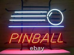 Nouvelle Salle De Jeu Pinball Jeu Arcade Bar Cub Décor Neon Light Sign 20x16