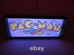 Pacman Marquee Jeu / Rec Chambre Led Affichage Boîte À Lumière