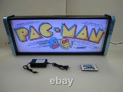 Pacman Marquee Jeu / Rec Room Led Display Boîte Lumineuse