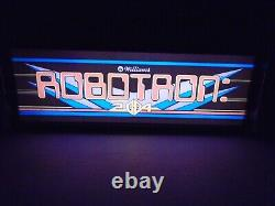 Robotron Marquee Game/rec Room Led Display Light Box Robotron Marquee Game/rec Room Led Display Light Box Robotron Marquee Game/rec Room Led Display Light Box Robotron