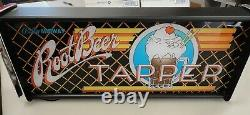Root Beer Tapper Marquee Jeu / Rec Room Led Display Light Box