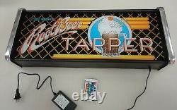 Root Beer Tapper Marquee Jeu/rec Room Boîte À Lumière Led Affichage