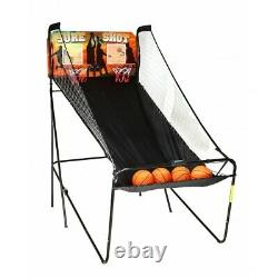 Salle De Jeu Basket Dual Hoop Arcade Style Kids Fun Toy Play Electronic Nba