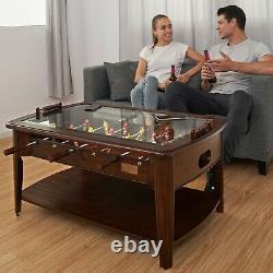 Salle De Jeux En Bois Foosball Table Basse Arcade. (livraison Gratuite)