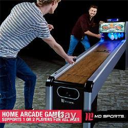 Skeeball Bowling Classic Arcade Salle De Jeux Accueil Rollerball Table Machine À L'intérieur