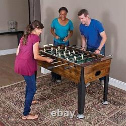Soccer Foosball Table Football Indoor Game Room 54 4 Player Competition Arcade