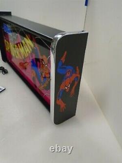 Spider Man Marquee Jeu / Rec Room Led Display Boîte Lumineuse