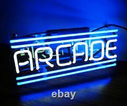 Ss001 Arcade Salle De Jeu Bière Bar Décor Real Neon Light Sign 12x5 New Wii Ps