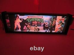 Teenage Mutant Ninja Turtles Marquee Jeu / Rec Room Led Display Boîte Lumineuse
