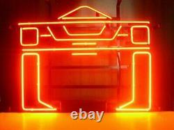 Tron Recognizer Arcade Game Room Neon Light Sign 24x20 Verre Lampe À Bière