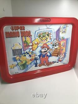 Vintage 1989 Nintendo Super Mario Bros Tv Dinner Tray Wall Art Gamer Game Room