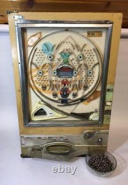 Vintage Japon Pinball Pachinko Machine À Sous Arcade Salle De Jeu Jouet Avec 370 Balles