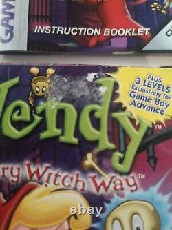 Wendy Every Witch Way Boxed Original Nintendo Gameboy Jeu De Couleur